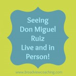 Seeing Don Miguel Live and In Person!