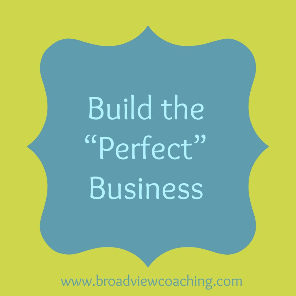 Buld the perfect business