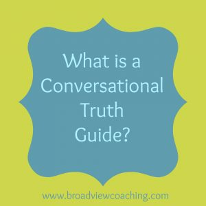 What is a conversational truth guide?