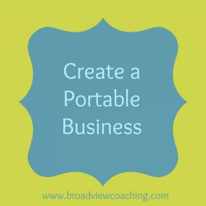 create a portable business