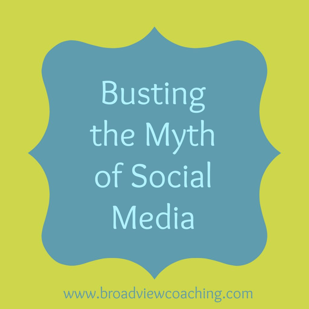 Busting the myth of social media